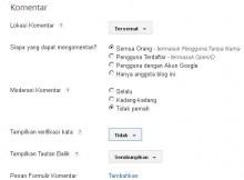 komentar blogspot